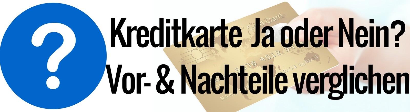 Kreditkarte beantragen Dauer